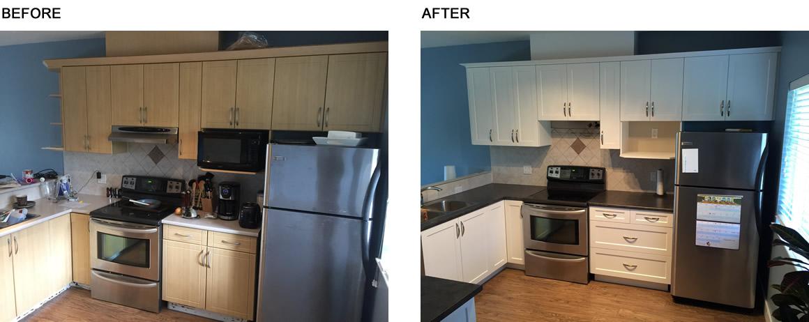 Kitchen Cabinet Refacing Abbotsford Bc