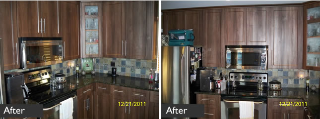 Kitchen refacing in Maple Ridge